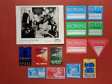 Counting Crows,promo photo,13 different Backstage passes,Rare Originals,