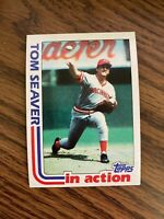 1982 Topps  #31 Tom Seaver Cincinnati Reds In Action NrMt
