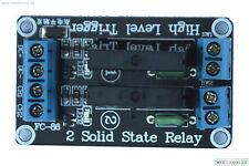 5V 2 Kanal SSR Solid-State Relais High Level Trigger 2A 240V