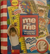 Alex Me by Me Keepsake Activity Kit- Clay Hand Print Growth Chart Scrapbook New*