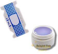 50 Modellierschablonen zur UV Gelverlängerung + Verlängerungsgel 5ml