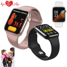 Sport Smart Watch Body Temperature Heart Rate for iPhone Samsung S20 S10 S9 S8 +