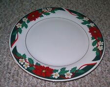4 TIENSHAN DECK THE HALLS DINNER PLATES MORE AVAILABLE