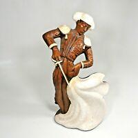 "Vintage MCM Treasure Craft 12"" Matador Bull Fighter Ceramic Figurine Sculpture"