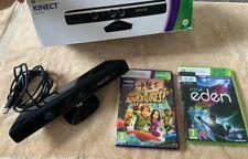 Xbox 360 Kinect Sensor And Kinect Games Bundle