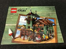 LEGO IDEAS 21310 OLD FISHING STORE INSTRUCTION MANUAL ONLY