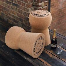 Champagne Cork Stool Giant XL Cork Low Stool - Grand Vin De Champagne CORK4G