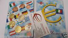 2009 ITALIA 8 monete 3,88 EURO fdc unc Italie Italy Italien Италия 意大利 Włochy