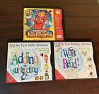 3x DK Multimedia Educational CD  Smart Steps Kindergarten, Math, Reading