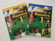 ABEKA Grade 1 One HEALTH SAFETY & MANNERS Teachers Ed & Student READER A Beka
