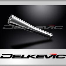 DELKEVIC Echappement-Silencieux-SEUL: Mégafone 550mm: 2x Chicanes Amovibles