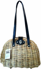WICKER ROCKABILLY VINTAGE RETRO ARTISAN BAG BASKET  BUY 2 GET 2ND 50% OFF