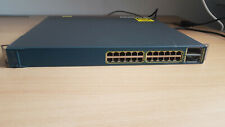 Cisco Catalyst 3560-E Series 24-Port Ethernet Switch WS-C3560E-24TD-S tested