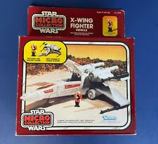 Vintage Star Wars Kenner Micro Collection Mint X-Wing Fighter 1982  Box MIB Rare