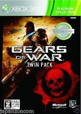 Used Xbox 360 Gears of War Twin Pack MICROSOFT JAPAN JAPANESE JAPONAIS IMPORT