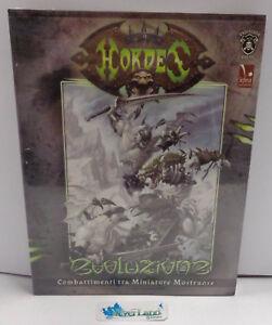 Gioco di Ruolo Game Manual Manuale ITALIANO ITA NUOVO New - HORDES Evoluzione -