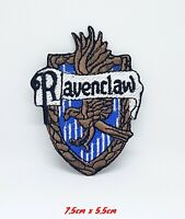 Harry Potter Ravenclaw Iron Sew on Embroidered Patch #917