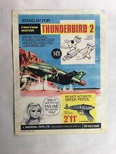 Original JR21 Toy Shop Advertising Poster-Gerry Anderson/Thunderbirds