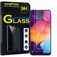 "2 Films Verres Trempés Protecteur Écran pour Samsung Galaxy A50 SM-A505F 6.4"""