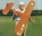 57 inch Buzzer Electric RC AIrplane Printed Plans