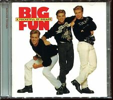 BIG FUN - A POCKETFUL OF DREAMS - REMASTERED WITH BONUS TRACKS CD ALBUM [2827]