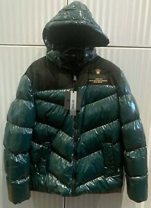 ROLEX NORTH POLE ARCTIC WORLD EXPEDITION GREEN JACKET 3XL SLIM SEE MEASURES NEW