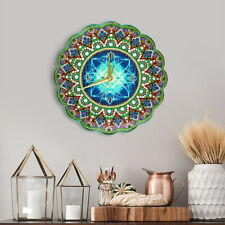 Wall Clock DIY Full Specil Shape Rhinestones Diamond Painting Clock Embroidery