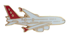 Airbus A380 Airliner Pin Badge