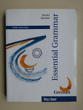 Essential grammar of German: with exercises By Monika Reimann