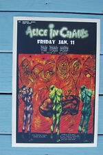 Alice in Chains Concert Tour Poster 1991 The Town Pump
