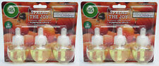 6 Refills Air Wick PUMPKIN SPICE AirWick Oil Refill
