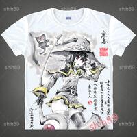 Anime KonoSuba Megumin Casual T-shirt Short Sleeve Unisex Tops Tee Ink Print