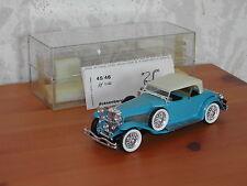 RIO Miniature Dusenberg Phaeton 1934 bleu au 1/43