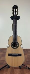 Puerto Rico Cuatro Guitar Oscar Schmidt Acoustic Electric with Tuner And Gig Bag