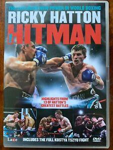 Ricky Hatton - The Hitman DVD British Boxer Boxing Documentary