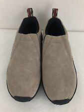 Women's MERRELL Beige Dual Density Slip On Nubuck Walking Hiking Shoes 5.5 NWOB