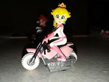 Mario Kart Tomy 1.5 Inch Princess Peach Pull Back Bike