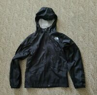EUC TNF The North Face DryVent Girls Full Zip Jacket Color Black Size Med 10/12