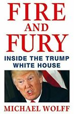Michael Wolff, Fire and Fury, Like New, Hardcover