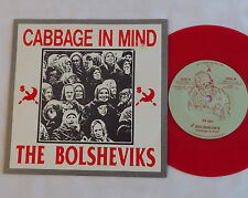 "The BOLSHEVIKS Cabbage in mind USA Red wax 7"" EP Dr. STRANGE Records (1990) EX"