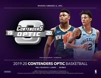 2019/20 Panini Contenders Optic NBA One Hobby Box Random Team Break #1