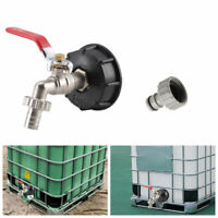"""Auslauf IBC Container Zubehör - Regenwasser Tank Adapter - Anschluss Geka 3/4"""""""