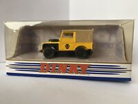 MATCHBOX DINKY 1/43 DY-9-B 1949 LAND ROVER SWB AA ROAD SERVICE YELLOW  1989 Made