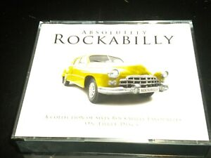 Absolutely Rockabilly - 3 CD's Album Boxset - 60 Great Rock 'N' Roll Tracks 2011