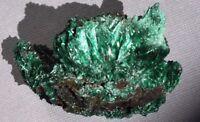Fibrous Malachite  Specimen Natural  Crystallized Congo Kinshasa