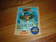 1968 Baseball Card DON SHAW New York Mets TOPPS #521