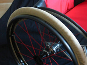 Wheelchair Wheel Tyre Covers Slippers Keep Your House Clean!