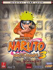 Naruto Ninja Council 3 - off. Lösungsbuch | engl. | NEU