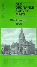 Old Ordnance Survey Map Cleckheaton near Gomersal Yorks 1905 S232.05 New Map