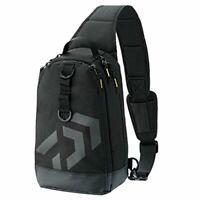 DAIWA Tackle Bag Black One-Shoulder LT 67464 JAPAN